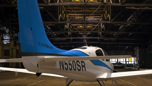 SR22T Carbon French Racing Blue White 03